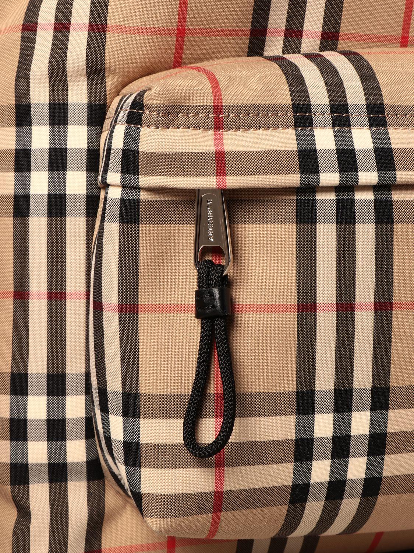 Backpack Burberry: Backpack men Burberry beige 4
