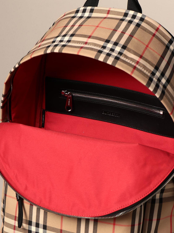 Backpack Burberry: Backpack men Burberry beige 5