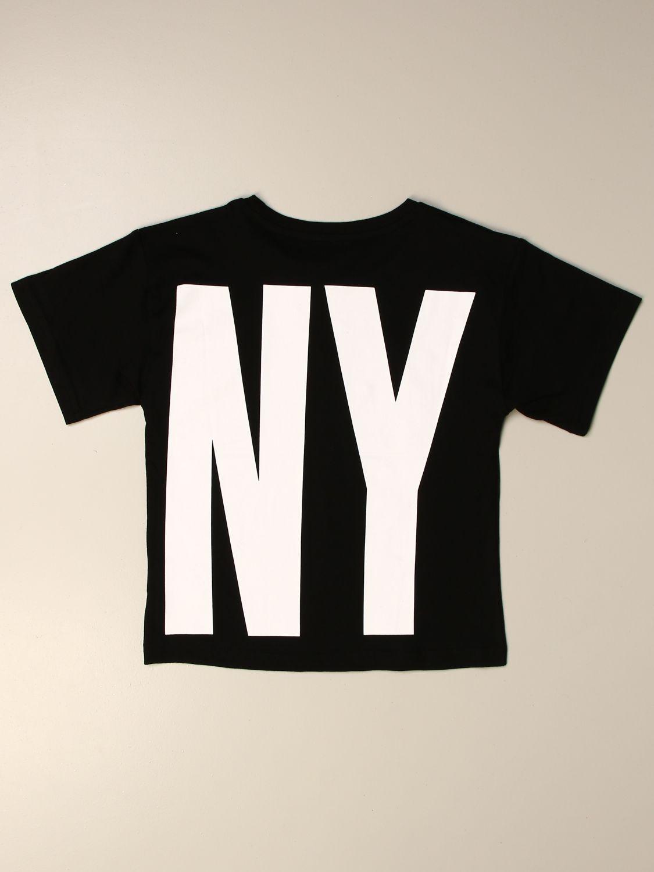Camisetas Dkny: Camisetas niños Dkny negro 2