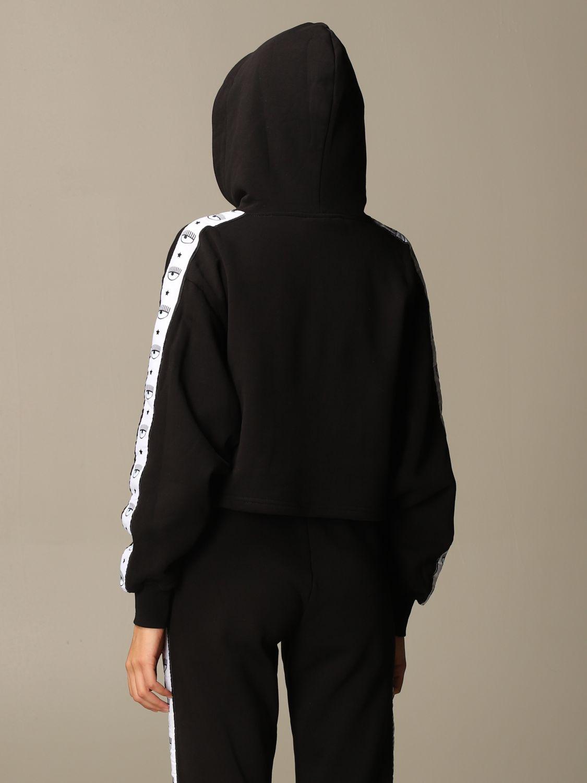 Sweatshirt Chiara Ferragni: Sweatshirt women Chiara Ferragni black 3