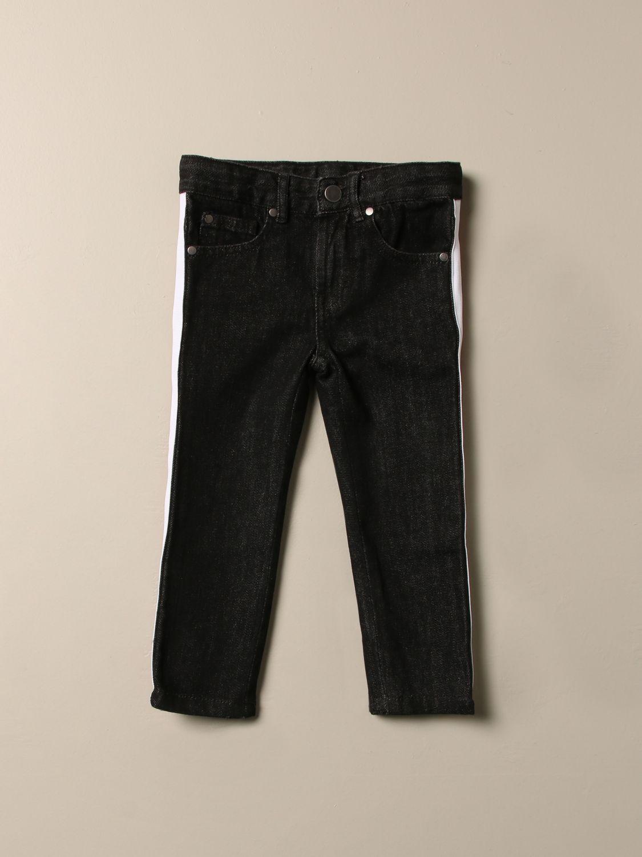 Jeans Stella Mccartney: Jeans Stella McCartney con bande a righe grigio 1
