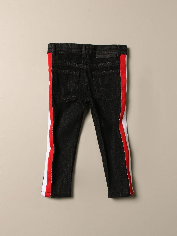 Jeans Stella Mccartney: Jeans Stella McCartney con bande a righe grigio 2
