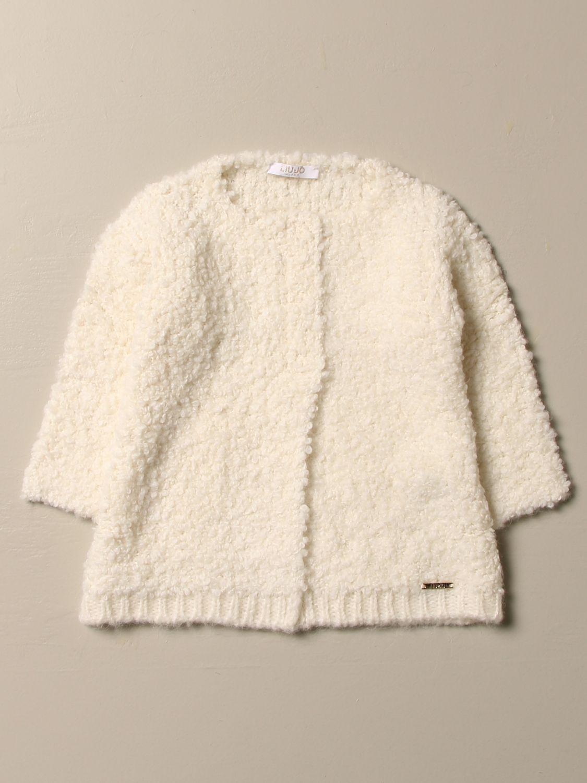 Пальто Liu Jo: Пальто Детское Liu Jo сливки 1