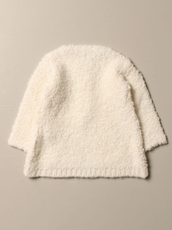 Пальто Liu Jo: Пальто Детское Liu Jo сливки 2