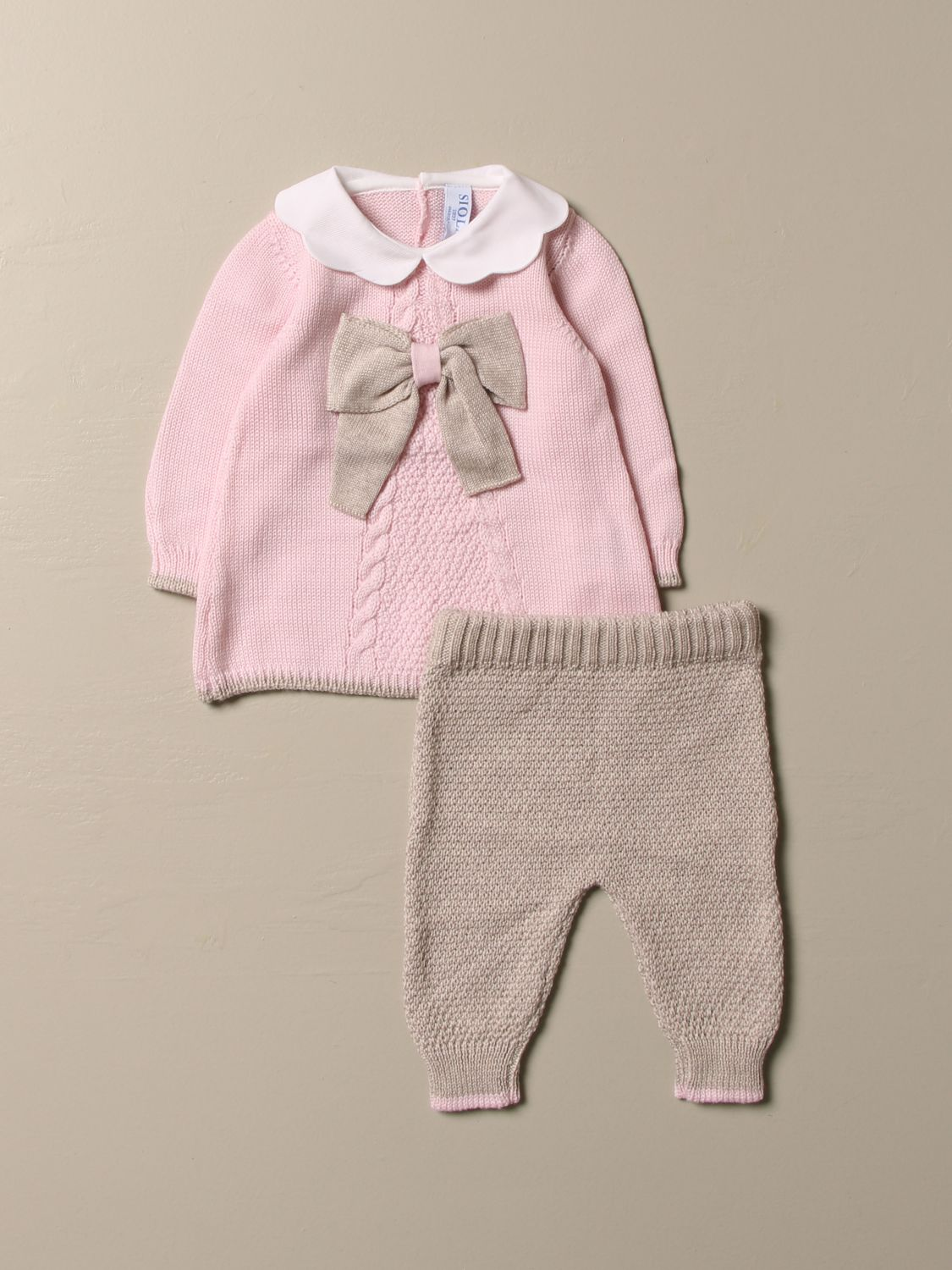 Baby-Overall Siola: Kombinationen kinder Siola pink 1