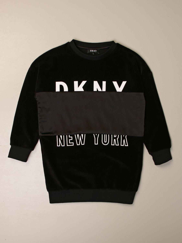 Vestido Dkny: Vestido niños Dkny negro 1