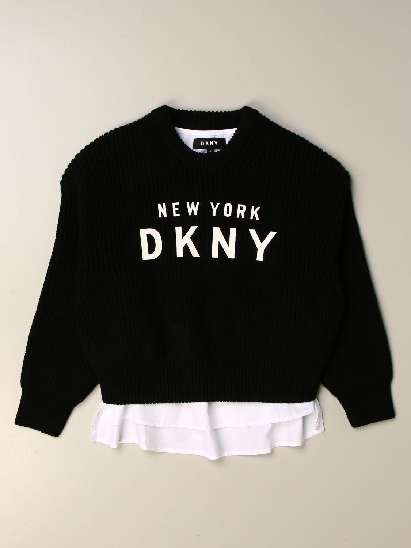 Jersey Dkny: Jersey niños Dkny negro 1