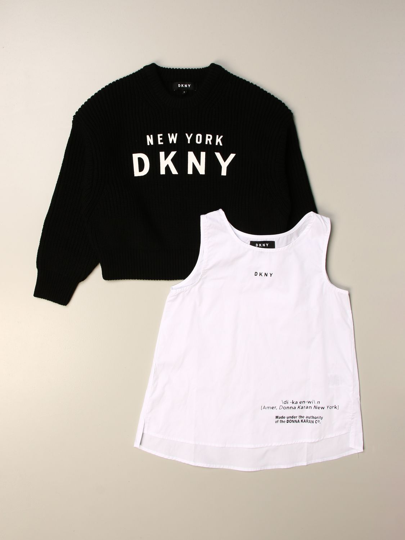 Jersey Dkny: Jersey niños Dkny negro 3