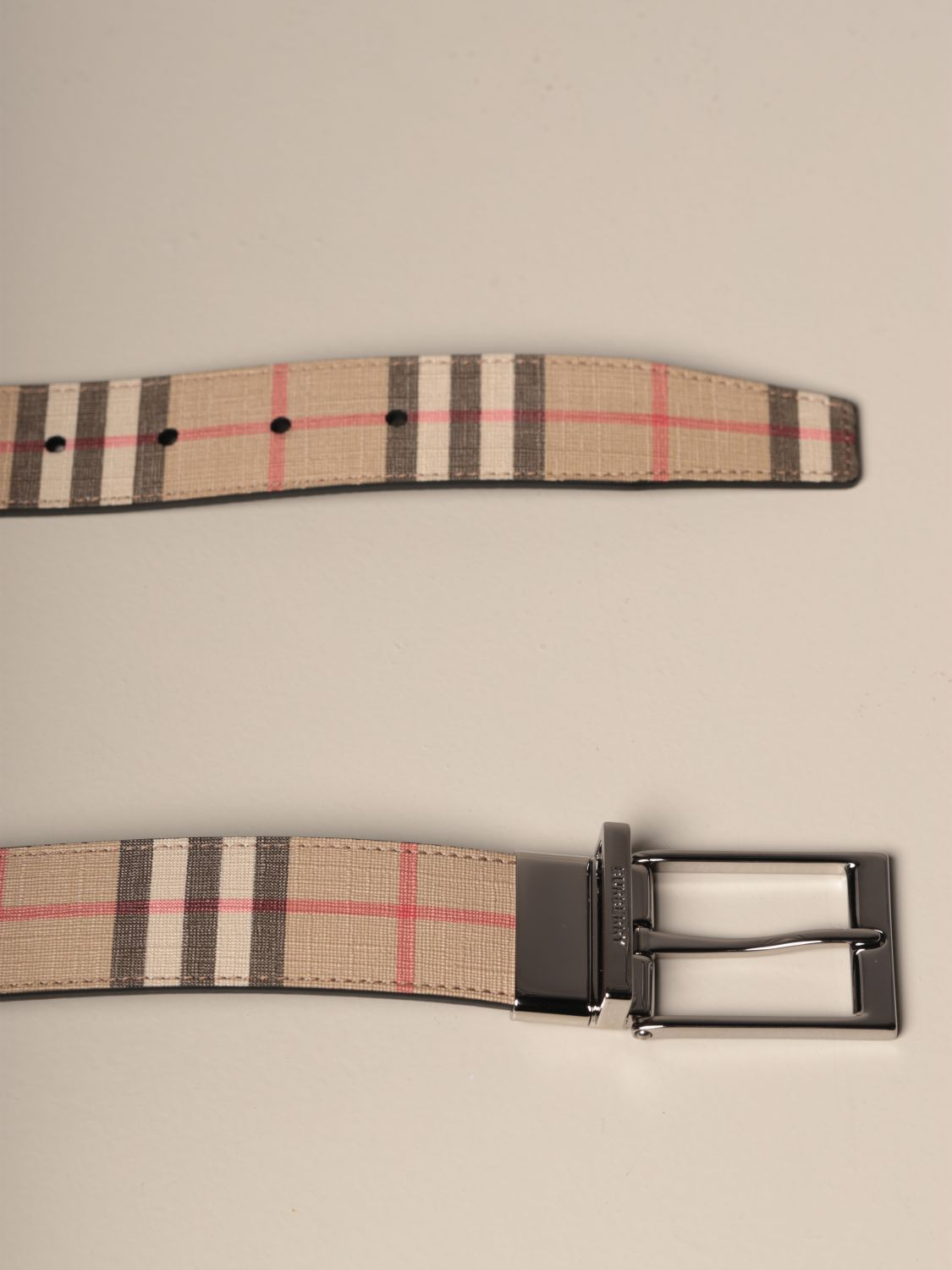 Belt Burberry: Belt men Burberry beige 2