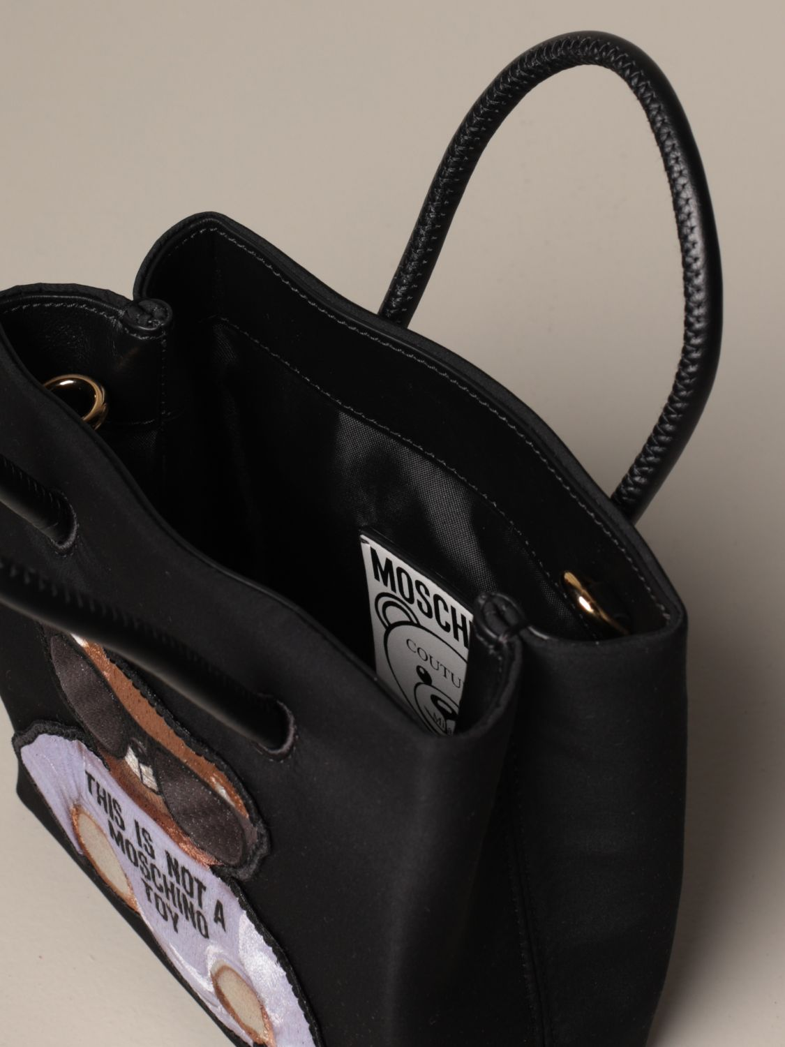 Tote bags Moschino Couture: Tote bags women Boutique Moschino black 5