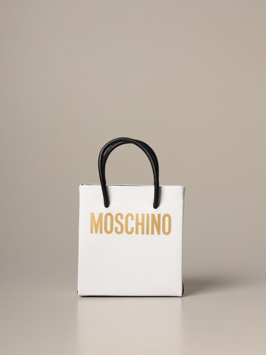 Tote bags Moschino Couture: Tote bags women Boutique Moschino white 1