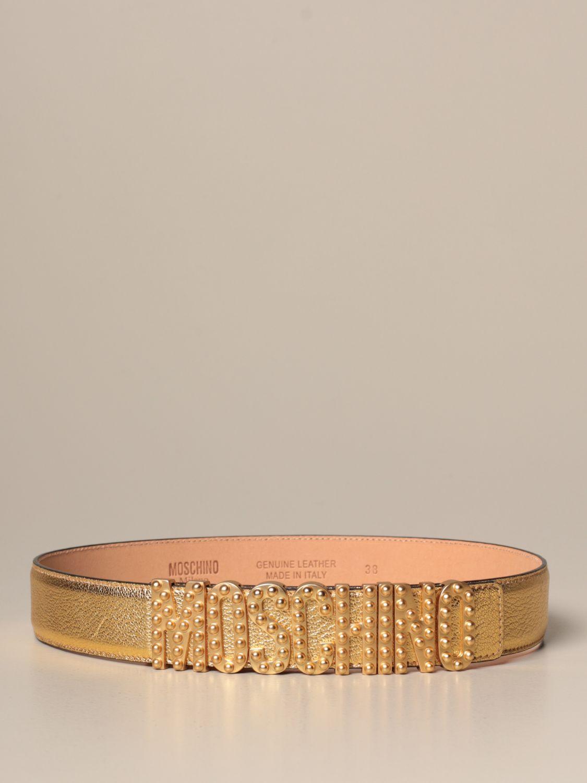 Belt Boutique Moschino: Belt women Boutique Moschino gold 1