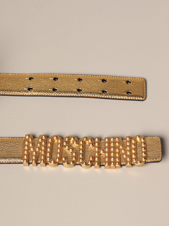 Belt Boutique Moschino: Belt women Boutique Moschino gold 2