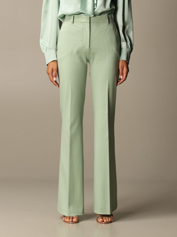 Trousers Alberta Ferretti: Trousers women Alberta Ferretti green 1