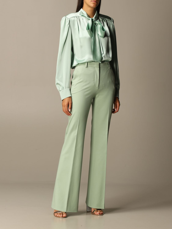 Trousers Alberta Ferretti: Trousers women Alberta Ferretti green 2