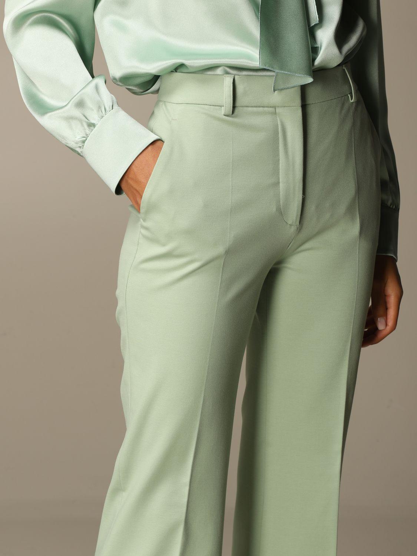 Trousers Alberta Ferretti: Trousers women Alberta Ferretti green 4