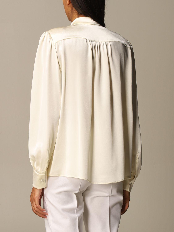 Shirt Alberta Ferretti: Shirt women Alberta Ferretti yellow cream 3