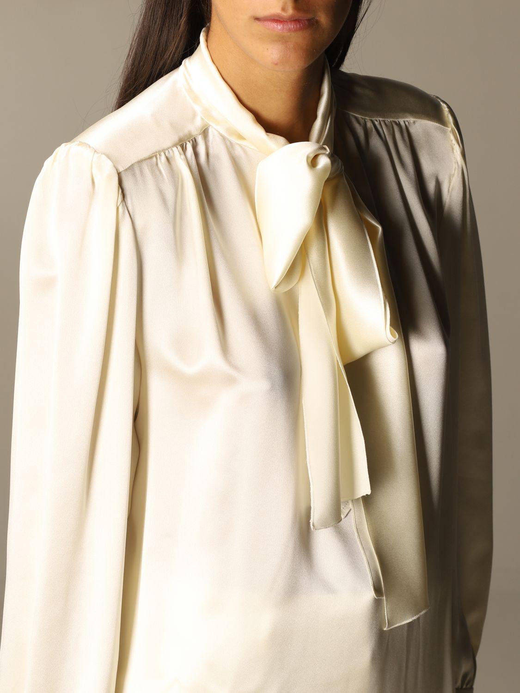 Shirt Alberta Ferretti: Shirt women Alberta Ferretti yellow cream 5