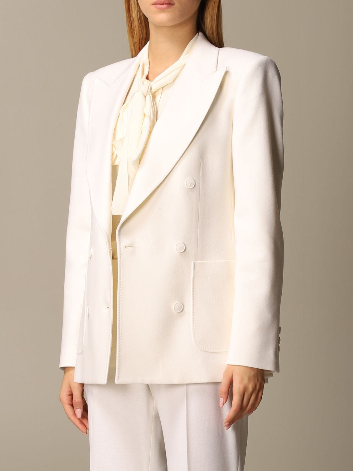 Jacket Alberta Ferretti: Jacket women Alberta Ferretti yellow cream 4