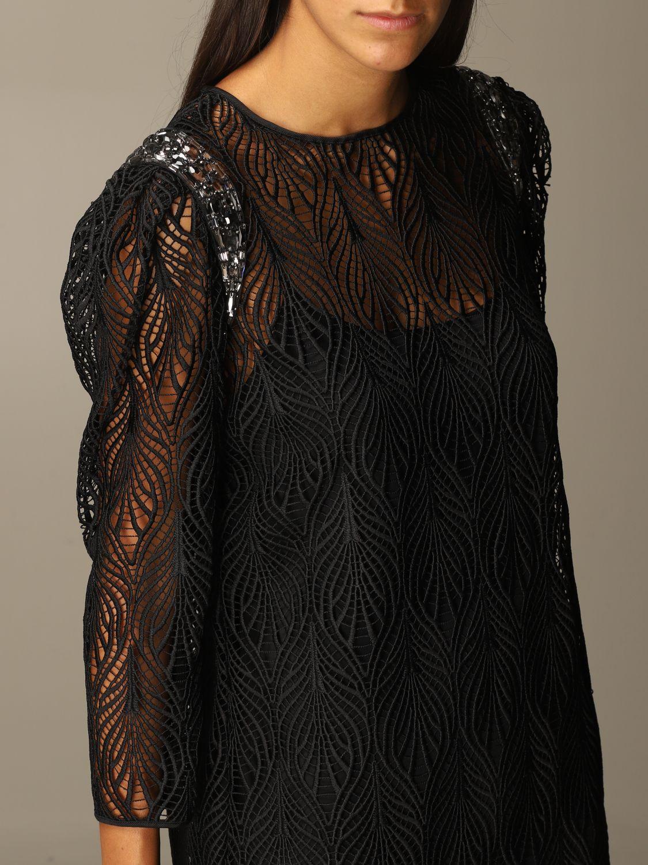 Robes Alberta Ferretti: Robes femme Alberta Ferretti noir 4