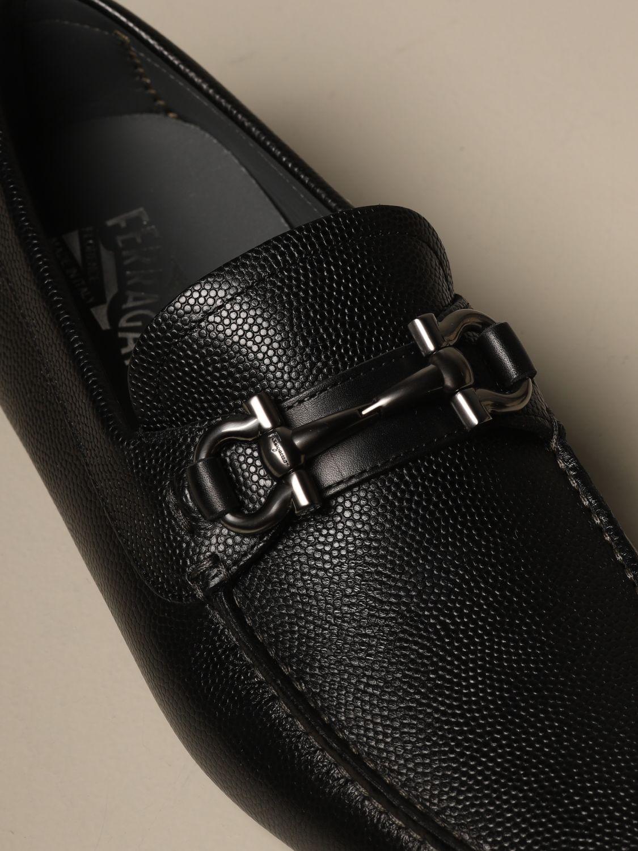 Salvatore Ferragamo leather loafer with