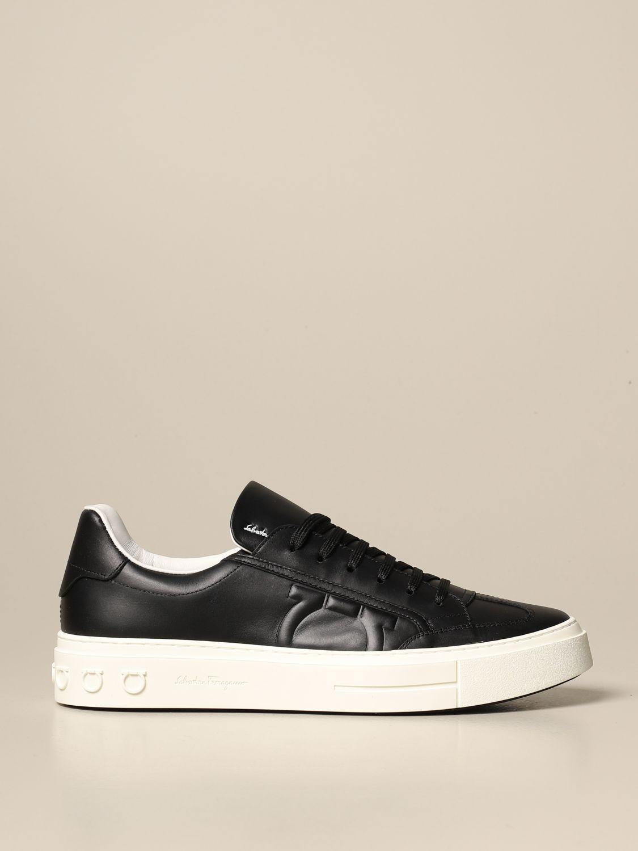 Salvatore Ferragamo Gancini sneakers in
