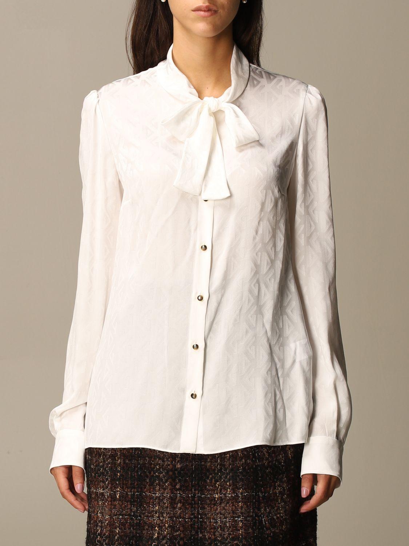 Рубашка Dolce & Gabbana: Рубашка Женское Dolce & Gabbana белый 1