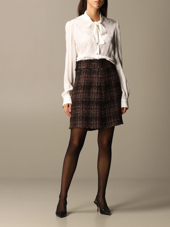 Рубашка Dolce & Gabbana: Рубашка Женское Dolce & Gabbana белый 2