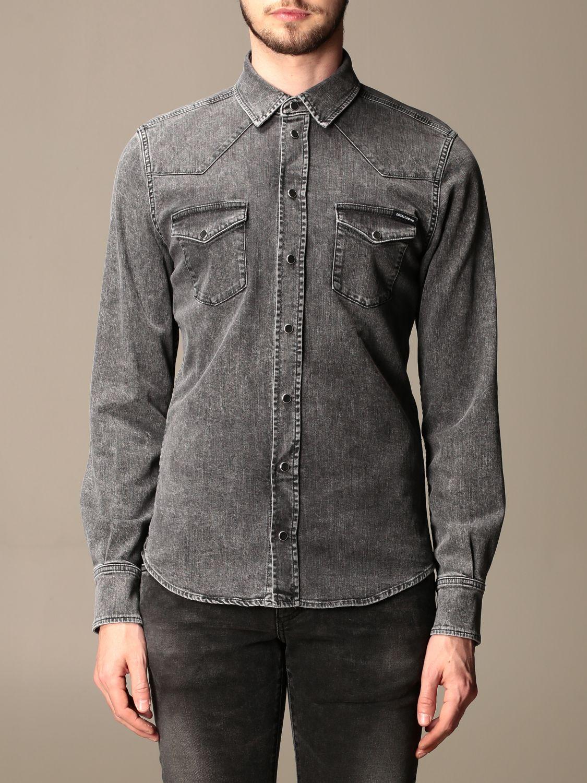 Рубашка Dolce & Gabbana: Рубашка Мужское Dolce & Gabbana серый 1