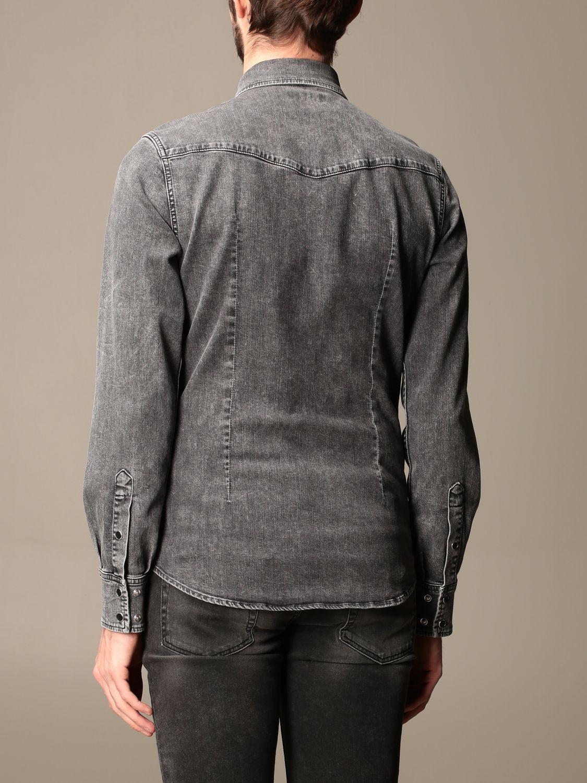Рубашка Dolce & Gabbana: Рубашка Мужское Dolce & Gabbana серый 3
