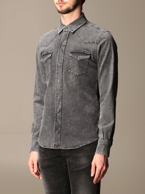 Рубашка Dolce & Gabbana: Рубашка Мужское Dolce & Gabbana серый 4