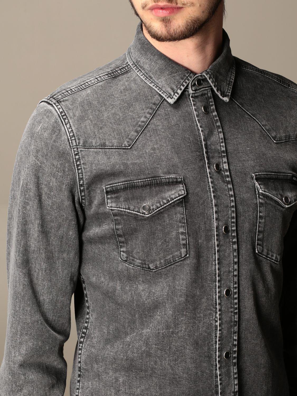 Рубашка Dolce & Gabbana: Рубашка Мужское Dolce & Gabbana серый 5