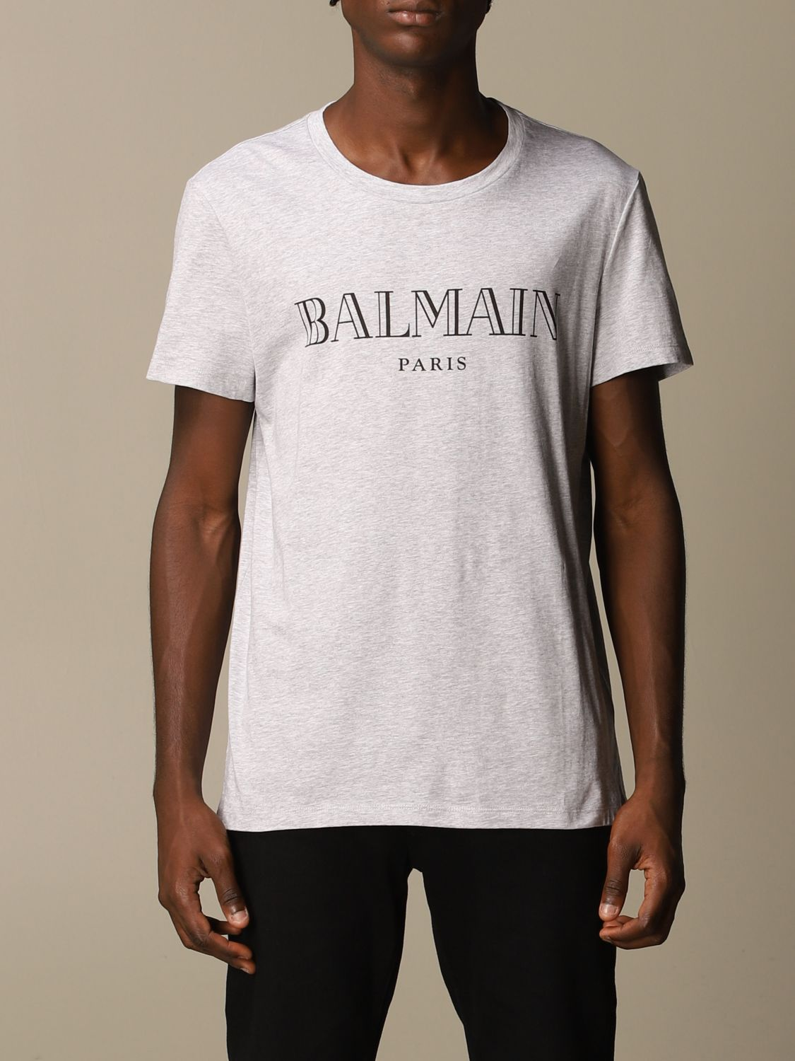 T-shirt Balmain: T-shirt men Balmain grey 1