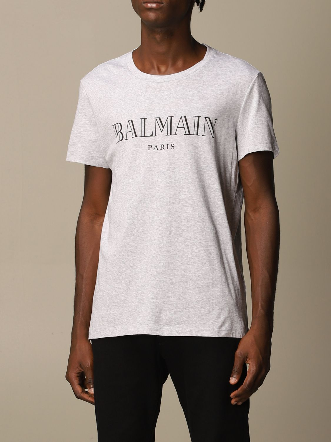 T-shirt Balmain: T-shirt men Balmain grey 3