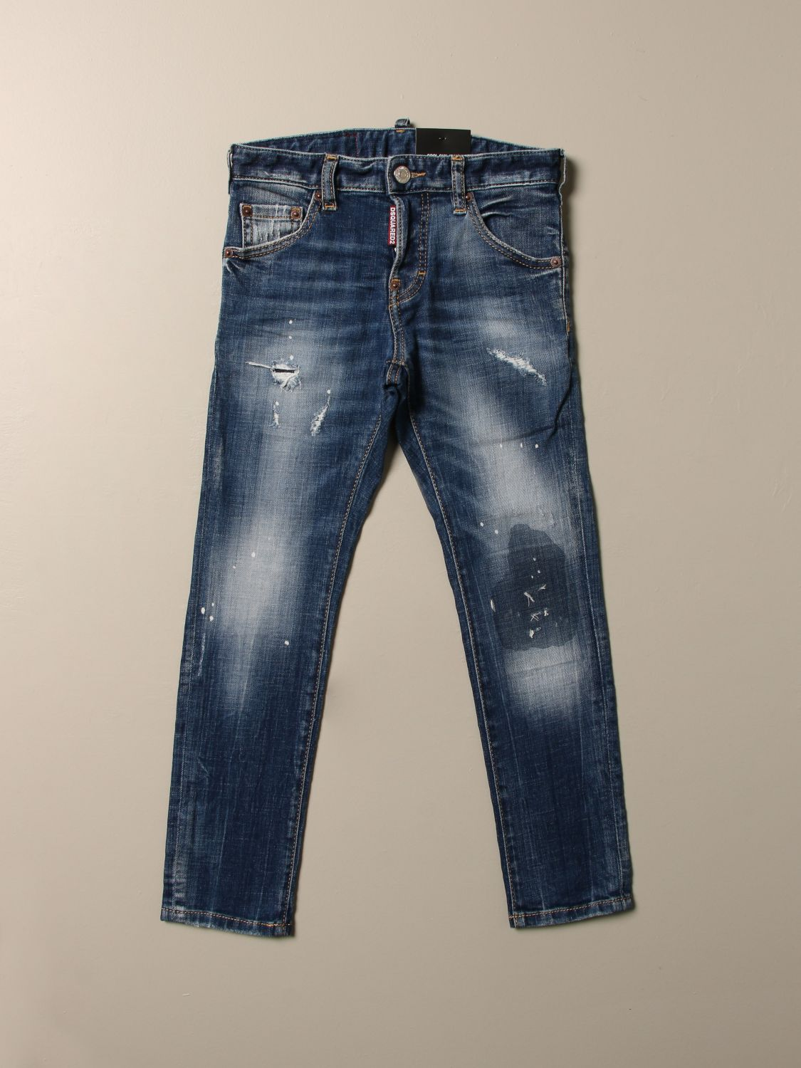 Jeans Dsquared2 Junior: Jeans kids Dsquared2 Junior denim 1