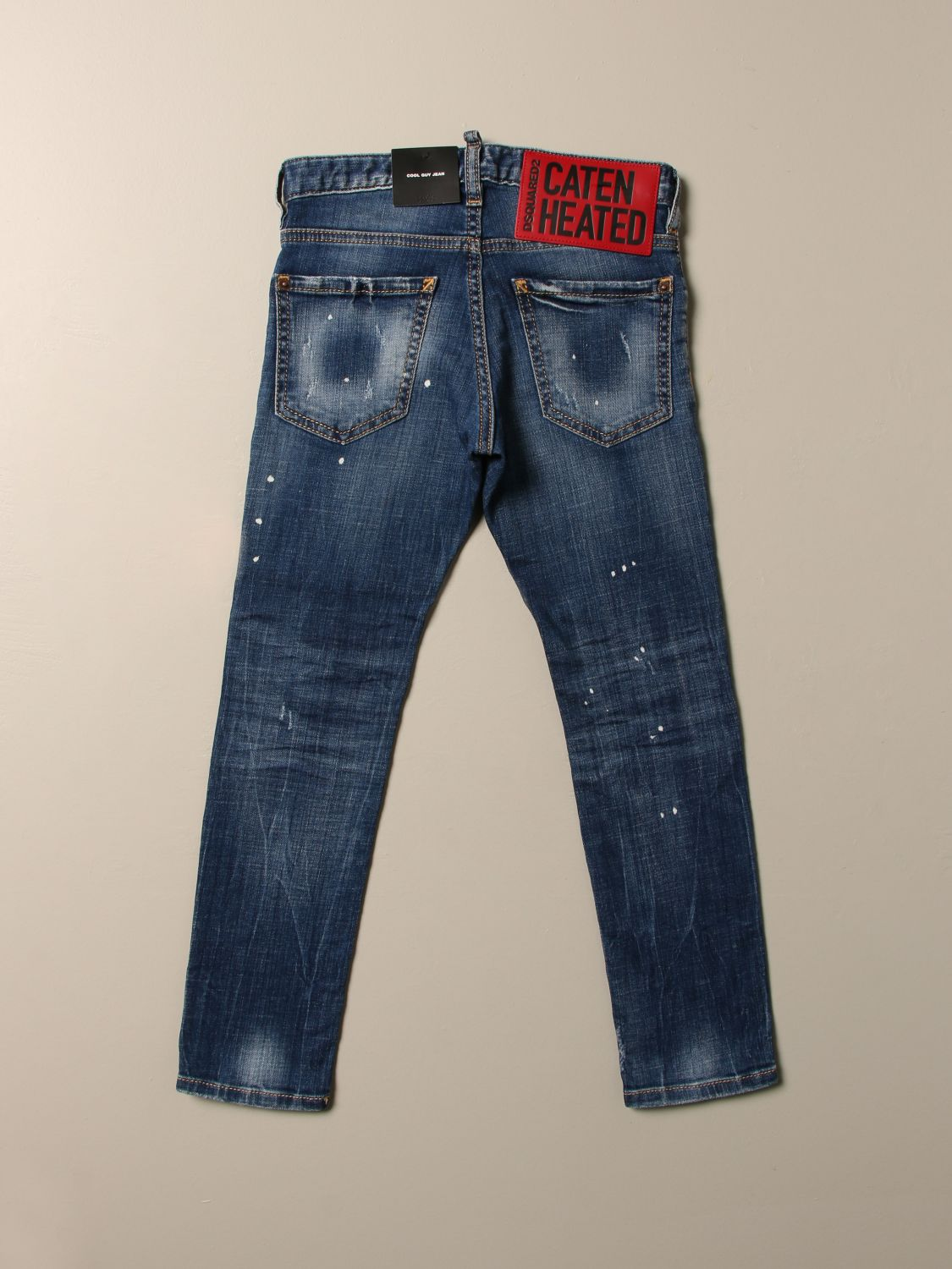 Jeans Dsquared2 Junior: Jeans kids Dsquared2 Junior denim 2