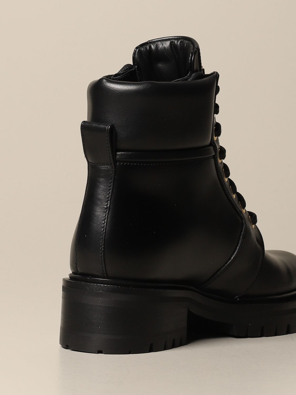 Flat ankle boots Balmain: Flat ankle boots women Balmain black 3