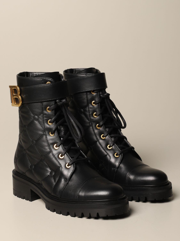 Flat ankle boots Balmain: Flat ankle boots women Balmain black 2
