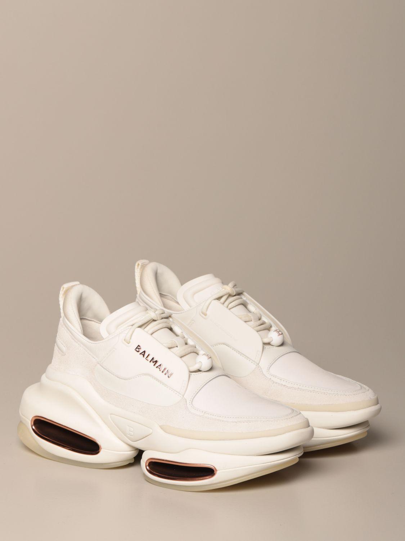 Sneakers Balmain: Sneakers women Balmain white 2