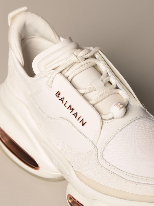 Sneakers Balmain: Sneakers women Balmain white 4