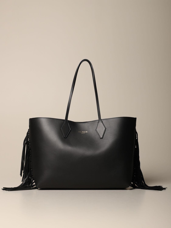 Shoulder bag Balmain: Shoulder bag women Balmain black 1