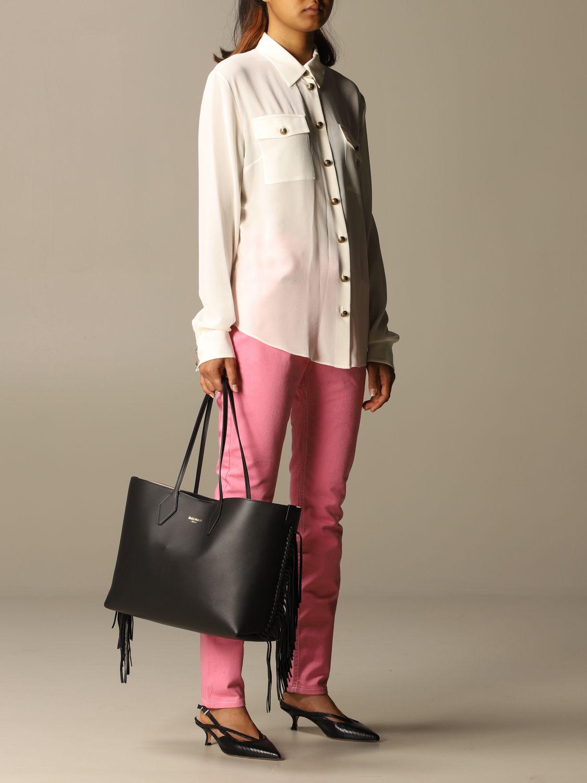 Shoulder bag Balmain: Shoulder bag women Balmain black 2