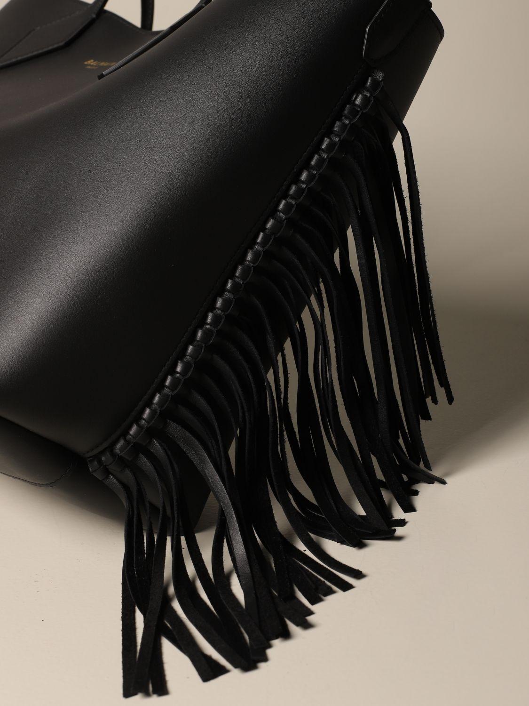 Shoulder bag Balmain: Shoulder bag women Balmain black 4