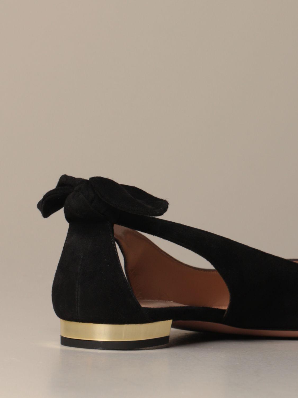 Ballet pumps Aquazzura: Ballet pumps women Aquazzura black 3
