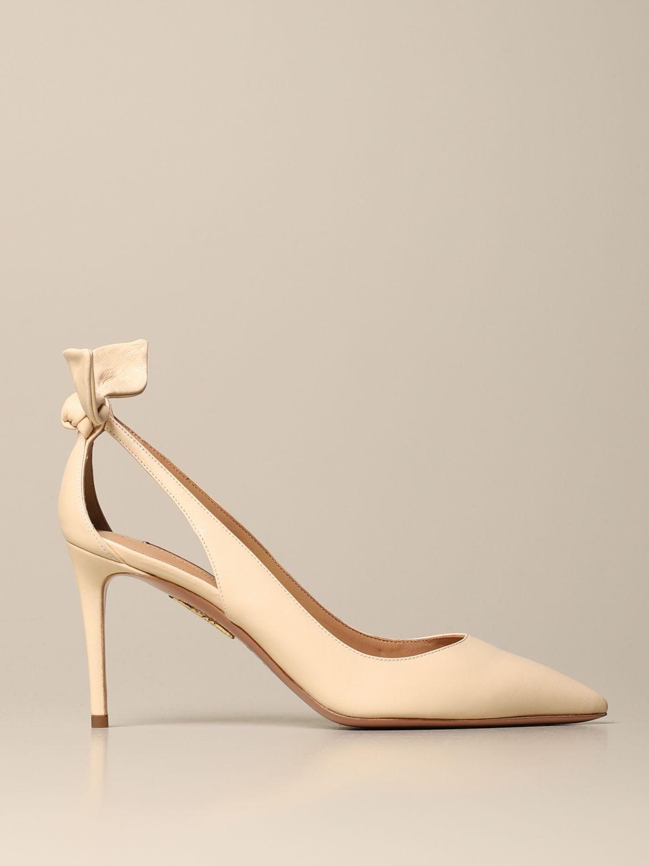 High heel shoes Aquazzura: High heel shoes women Aquazzura cream 1