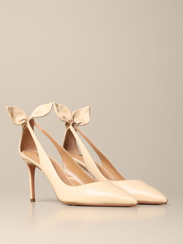 High heel shoes Aquazzura: High heel shoes women Aquazzura cream 2
