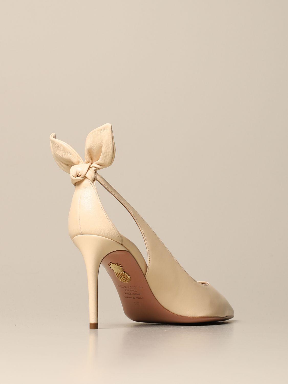 High heel shoes Aquazzura: High heel shoes women Aquazzura cream 3
