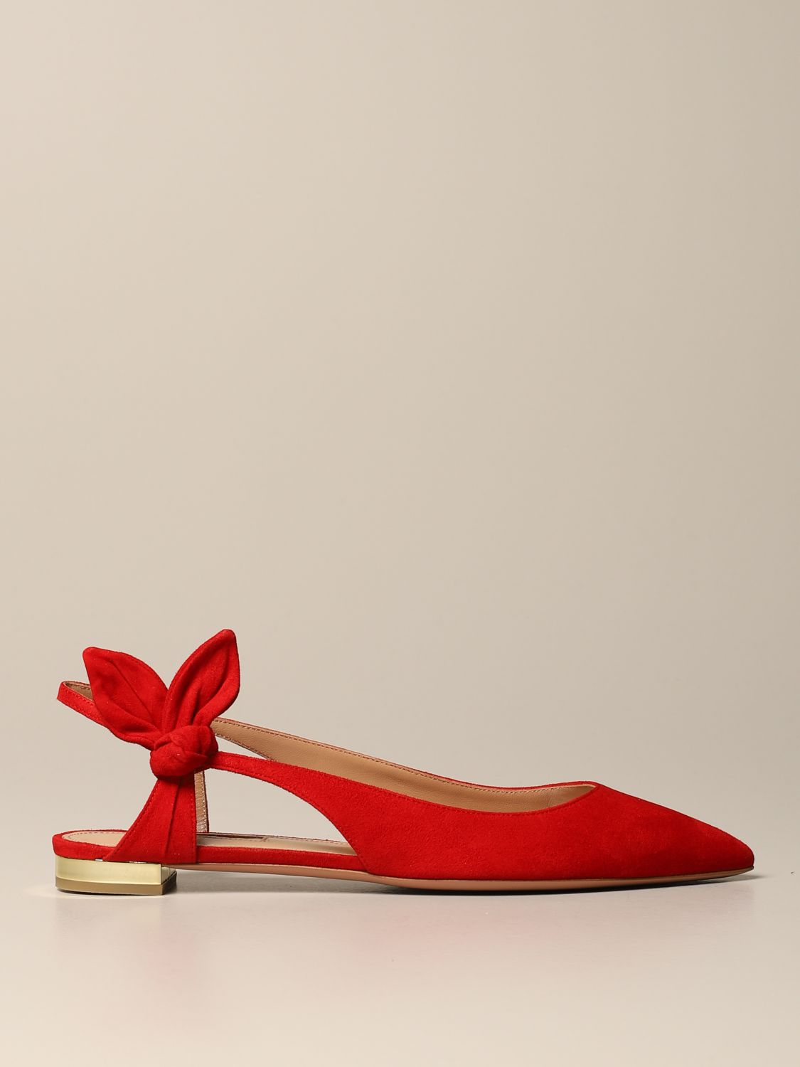 Ballet pumps Aquazzura: Ballet pumps women Aquazzura red 1