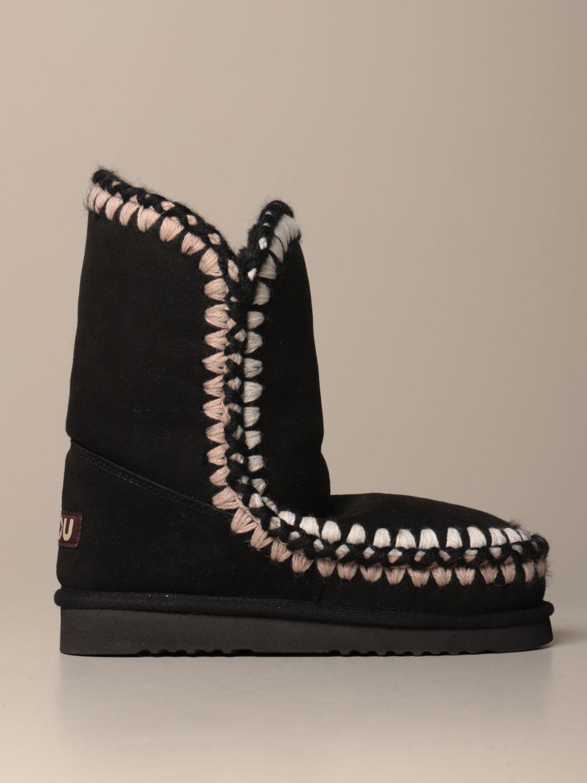 靴子 Mou: 运动鞋 女士 Mou 黑色 1