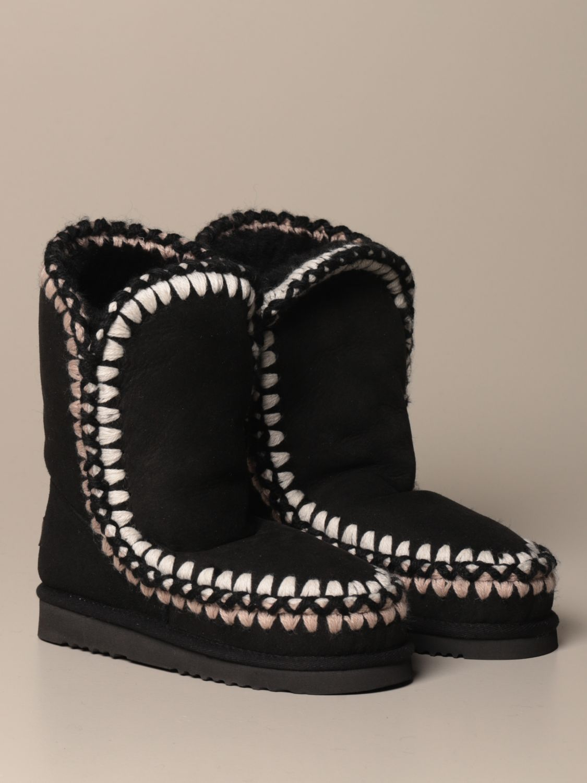靴子 Mou: 运动鞋 女士 Mou 黑色 2